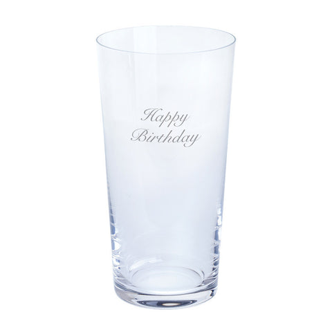 Dartington Crystal Just For You Happy Birthday Pint Glass 0.55L (Single)
