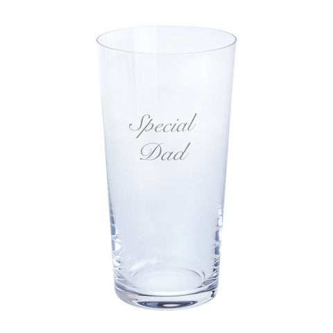 Dartington Crystal Just For You Special Dad Pint Glass 0.55L (Single)