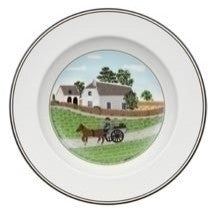 Villeroy and Boch Design Naif Farmer Deep Plate 21cm