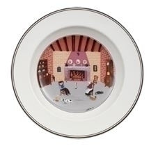 Villeroy and Boch Design Naif Fireplace Deep Plate 21cm