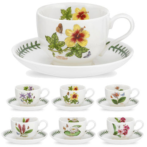 Portmeirion Exotic Botanic Garden Teacup and Saucer 0.20L