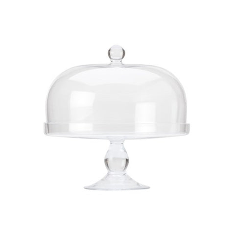 Maxwell and Williams Diamante Cake Stand with Dome 30cm