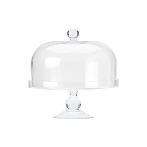 Maxwell and Williams Diamante Cake Stand with Straight Dome 25cm