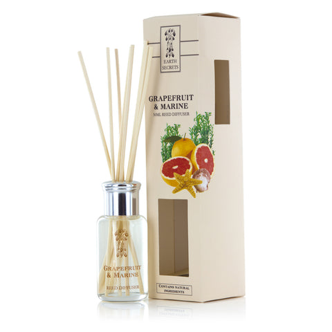Earth Secrets Reed Diffusers Grapefruit and Marine Reed Diffuser 0.05L