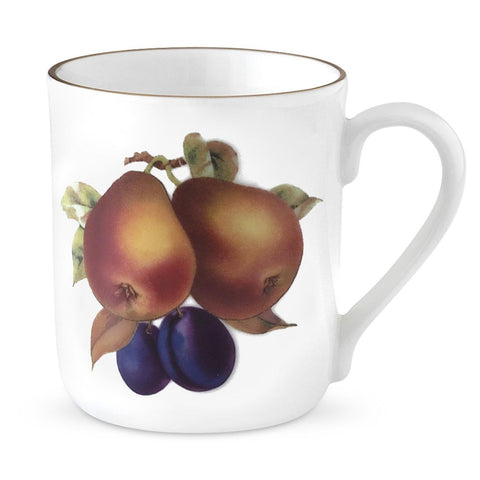 Royal Worcester Evesham Gold Pear and Damson Mug 0.34L (Set of 4)