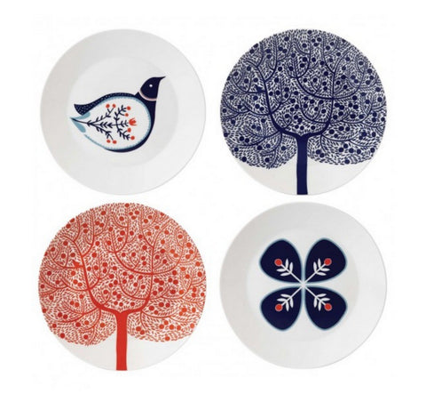 Royal Doulton Fable Assorted Salad Plate 22cm (Set of 4)