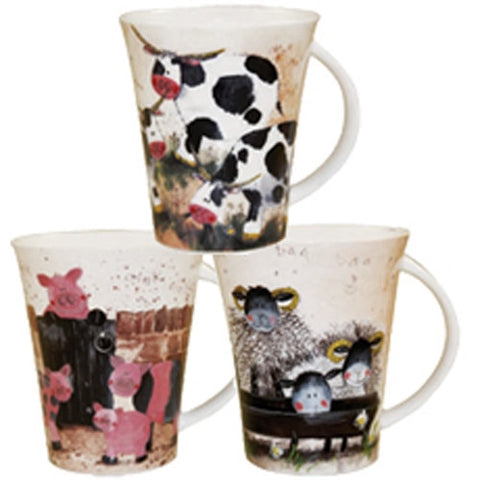 Alex Clark Farmyard Mug 0.37L (Assorted Designs)