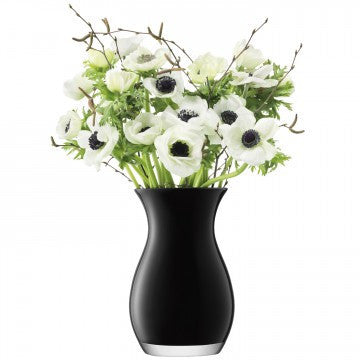 LSA Flower Colour Black Posy Vase 20cm