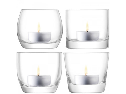 LSA Lulu Assorted Tealight Holder (Set of 4)