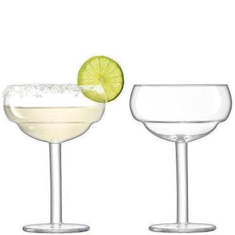 LSA Mixologist Cocktail Clear Coupe Glass 0.32L (Set of 2)