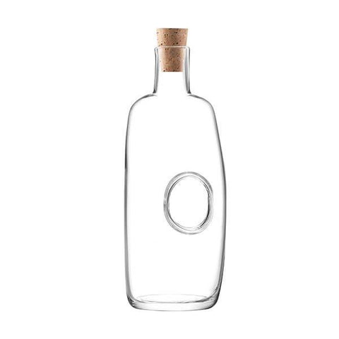 LSA Void Clear Carafe and Cork Stopper 1.1L