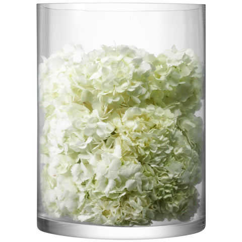 LSA Column Clear Vase 40cm by 30cm