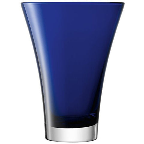 LSA Flower Colour Cobalt Flared Vase 23cm