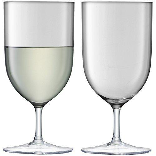 LSA Hint Pale Slate Wine/Water Glass 0.40L (Set of 2)
