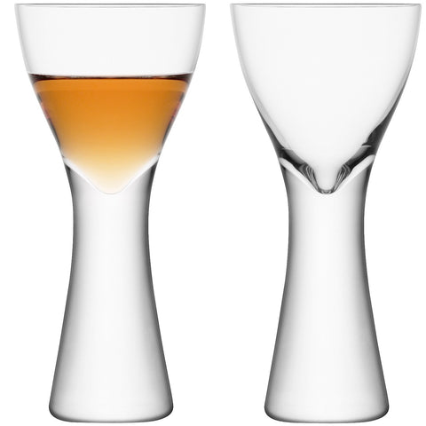 LSA Elina Clear Liqueur Glass Pair 100ml