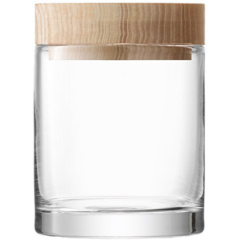 LSA Lotta Clear Decorative Jar 19cm