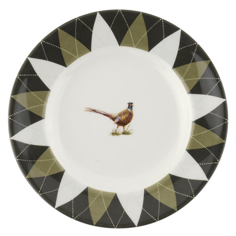 Spode Glen Lodge Pheasant Tea Plate 15cm (Set of 4)