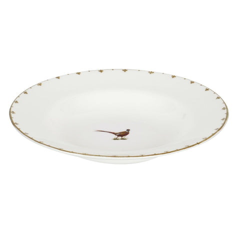 Spode Glen Lodge Pheasant Soup Plate 23cm