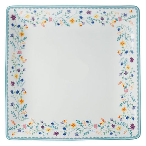 Maxwell and Williams Wildflowers Square Platter 30cm