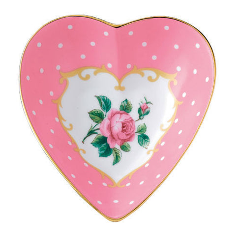 Royal Albert Accessories Cheeky Pink Heart Tray