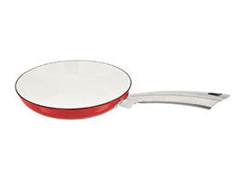 Stellar Easy Lift Cast Iron Red Frying Pan 24cm