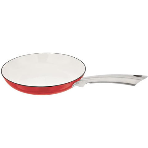 Stellar Easy Lift Cast Iron Red Frying Pan 27cm