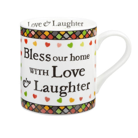 Churchill China Julie Dodsworth Bless Our Home Mug 0.34L