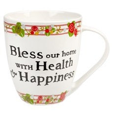 Churchill China Julie Dodsworth Health and Happiness Mug 500ml