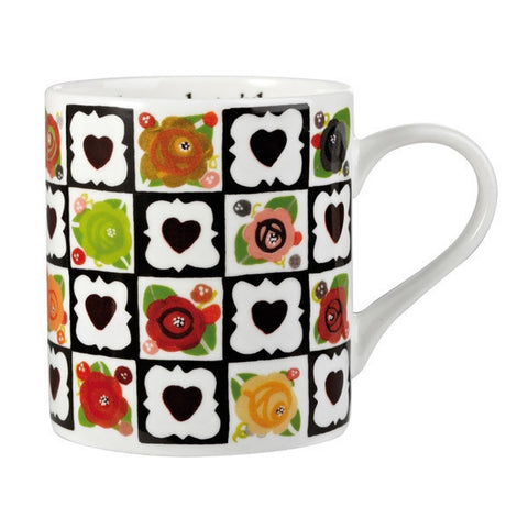 Churchill China Julie Dodsworth Chocolate Box Mug 340ml