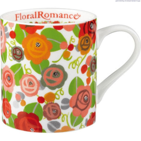 Churchill China Julie Dodsworth Floral Romance Mug 340ml