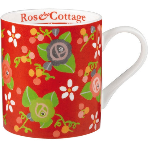 Churchill China Julie Dodsworth Rose Cottage Mug 340ml