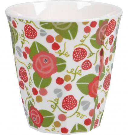 Churchill China Julie Dodsworth Strawberry Fayre Melamine Beaker 200ml