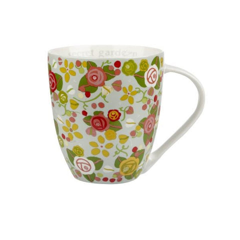 Churchill China Julie Dodsworth Secret Garden Mug 500ml