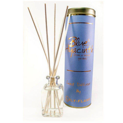 Lily Flame Blue Hyacinth Reed Diffuser