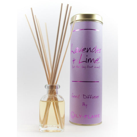 Lily Flame Lavender and Lime Reed Diffuser