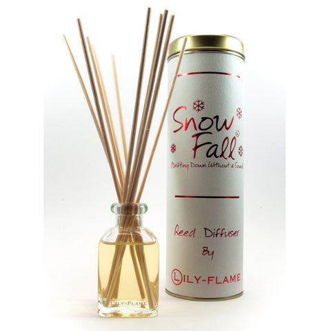 Lily Flame Snowfall Reed Diffuser