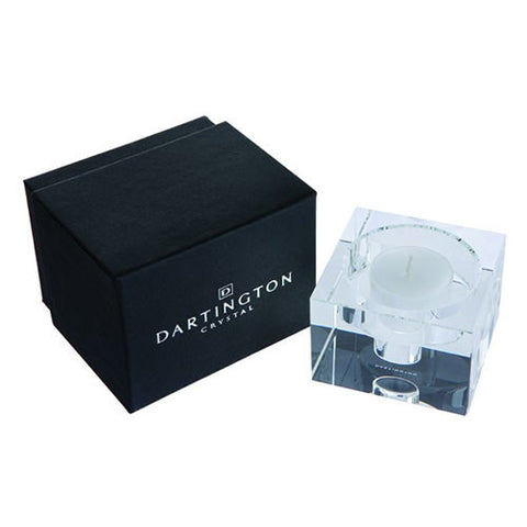 Dartington Crystal Combo Small Candle Block
