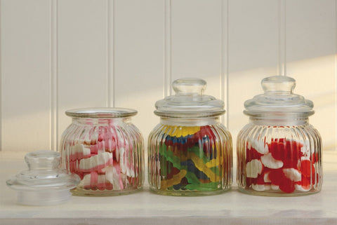 Maxwell and Williams Candystore Set of 3 Canisters