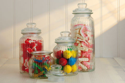 Maxwell and Williams Candystore Set of 4 Canisters