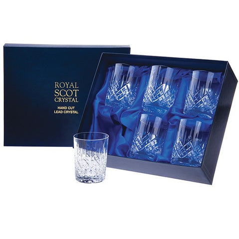 Royal Scot Crystal London Whisky Tumbler (Set of 6)