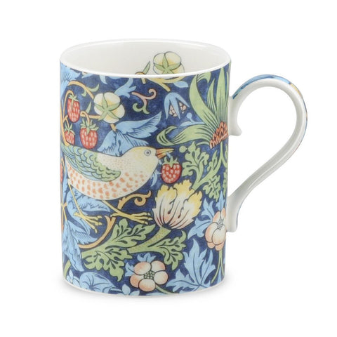 Royal Worcester Morris and Co Strawberry Thief Indigo and Mineral Mug 0.35L