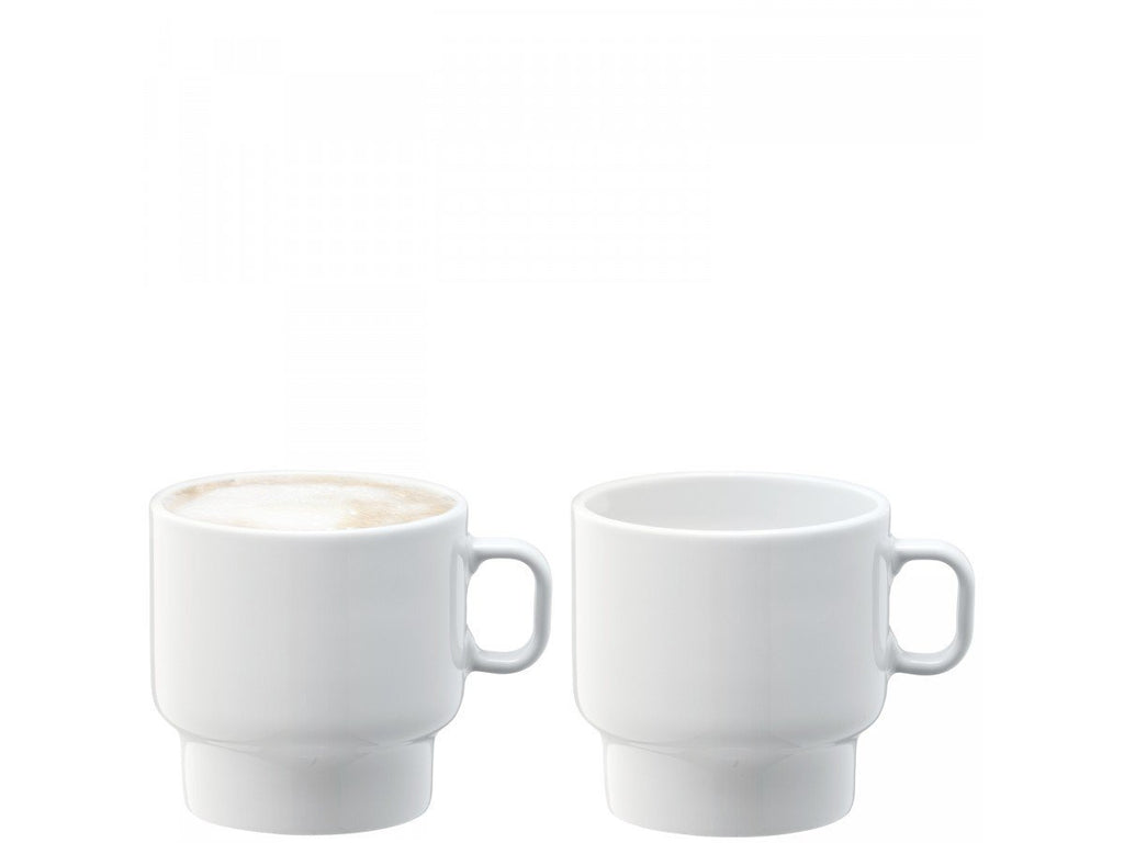 LSA Utility White Cup 280ml (Set of 2)