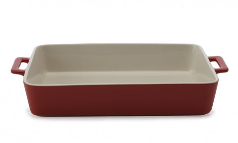 Maxwell and Williams Chef du Monde Red Rectangular Baker 32cm by 22.5cm by 7cm