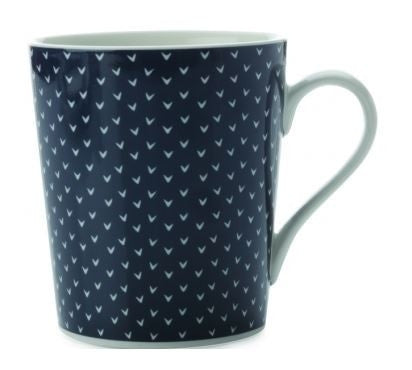 Maxwell and Williams Print Indigo Mug 0.34L