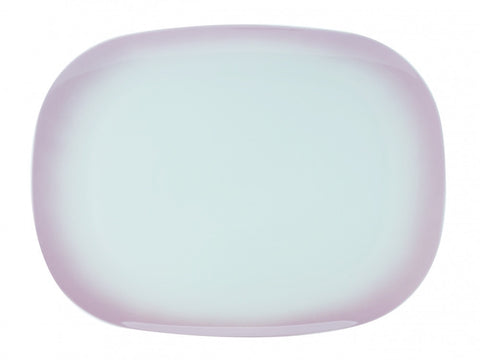 Maxwell and Williams Bisou Pink Rectangular Platter 37.5cm by 28cm