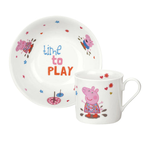 Portmeirion Peppa Pig 2 Piece Set