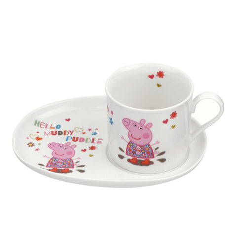 Portmeirion Peppa Pig Mug and Snack Plate