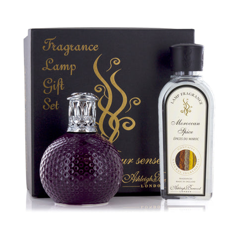 Ashleigh and Burwood Ceramic Damson in Distress with Moroccan Spice Small Gift Set