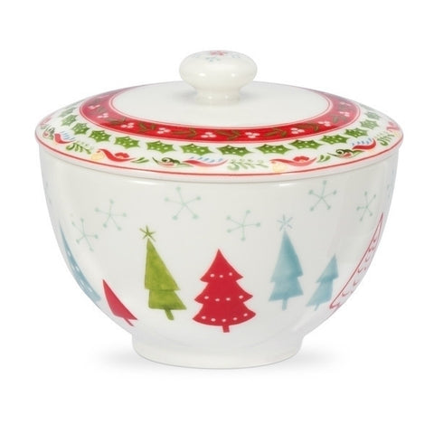 Portmeirion Christmas Wish Covered Sugar bowl 0.30L
