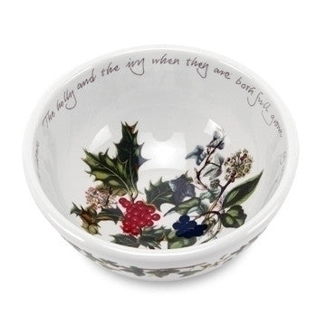 Portmeirion Holly and Ivy Fruit Salad Bowl 14cm